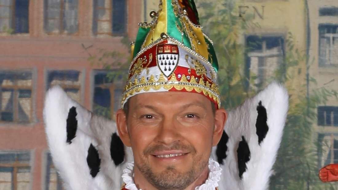 Sven Oleff, der Kölner Prinz in seiner Festkleidung
