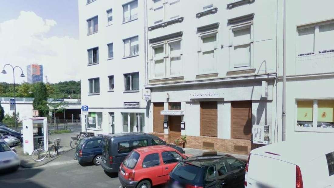 """Google-Maps-Screenshot des """"Weißen Holunder"""" auf der Gladbacher Straße in Köln"""