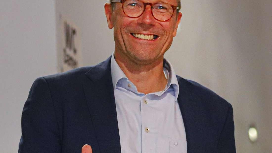 Grünen-Politiker Uwe Schneidewind ist zum neuen Oberbürgermeister von Wuppertal gewählt worden