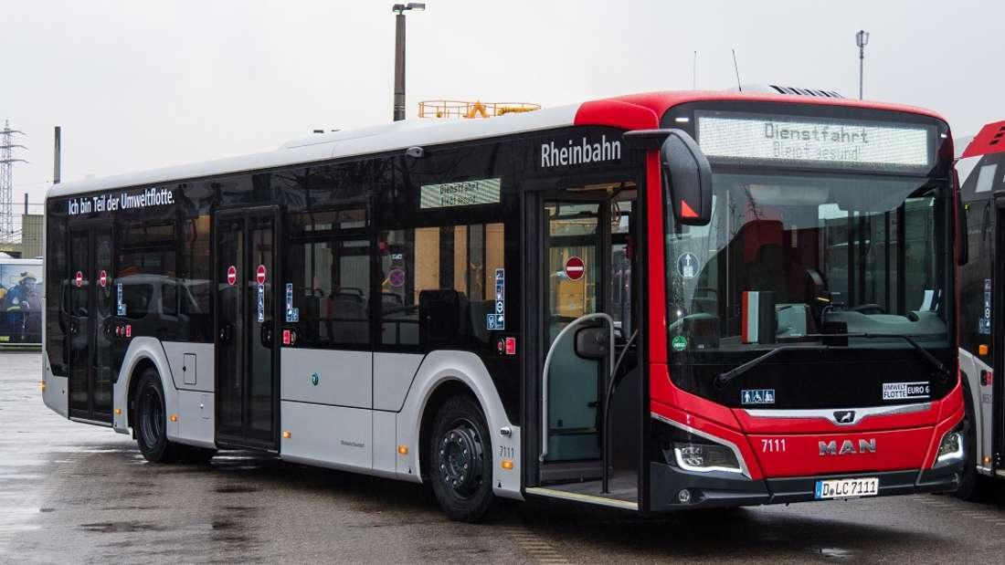 Ein neues Bus-Modell bei der Rheinbahn in Düsseldorf.