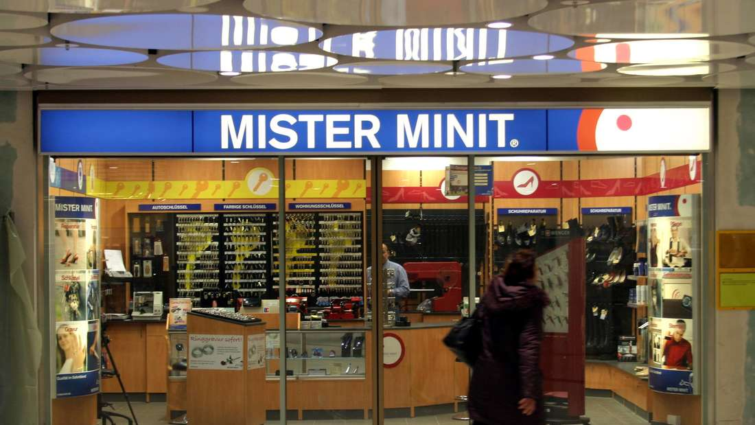 Filiale Mister Minit in der modernisierten Einkaufspassage am Stachus in München