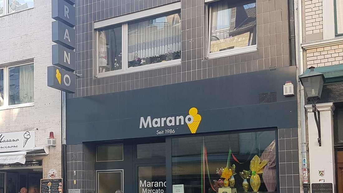Eismanufaktur Marano in der Severinstraße Köln