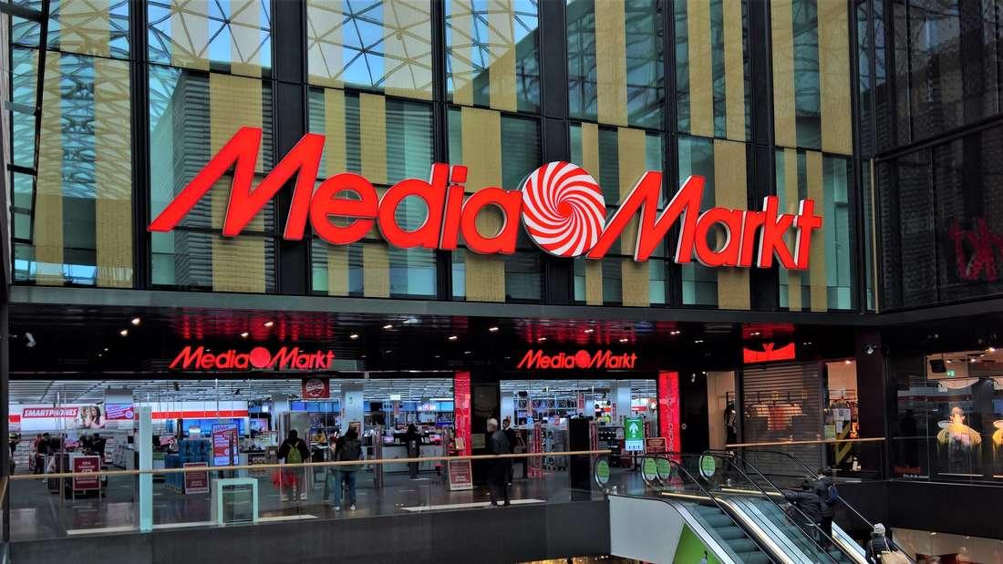 Eine Media Markt-Filiale in einem Einkaufszentrum.