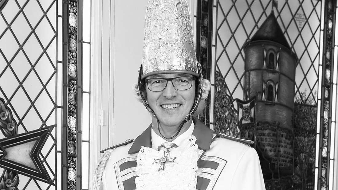 Max Offermann, der langjährige Regimentspfarrer der Prinzengarde Köln.