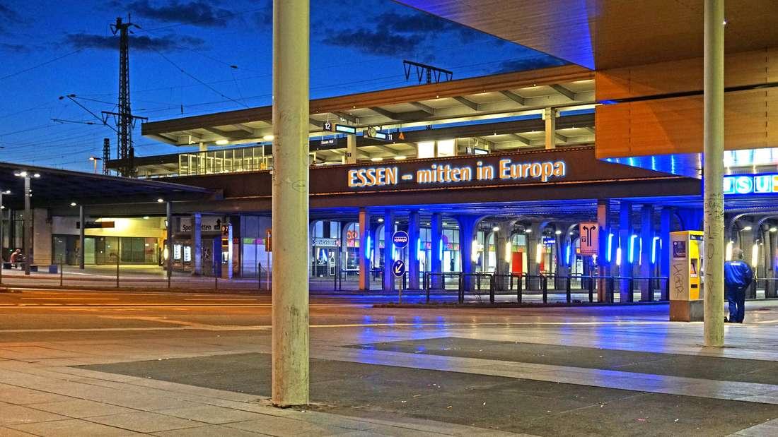 Der Verkehrsknotenpunkt am Essener Hauptbahnhof