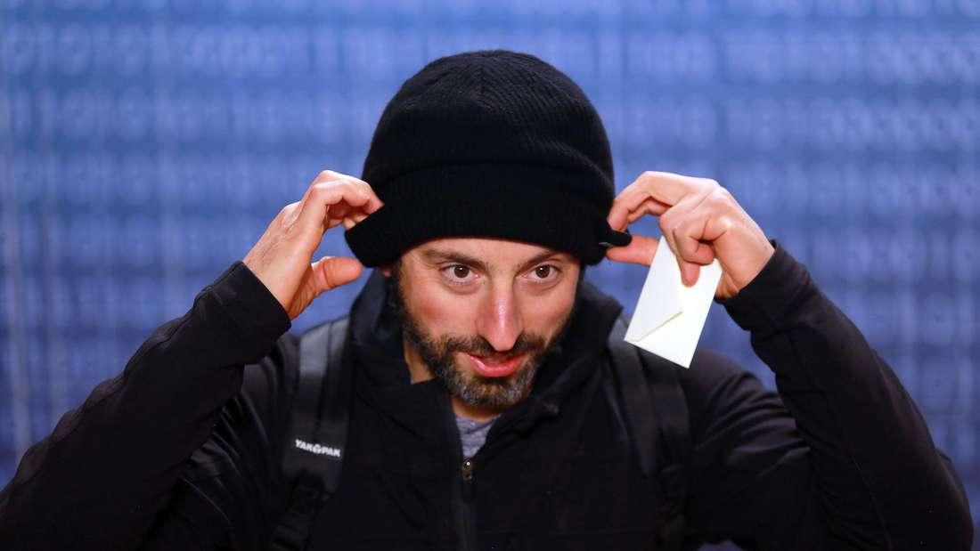 """Sergey Brin bei der """"Breakthrough Prize""""-Zeremonie 2013."""