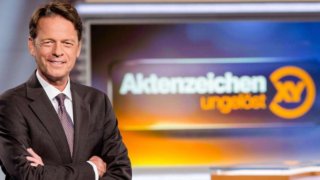 """""""Aktenzeichen XY... ungelöst"""": Rudi Cerne."""