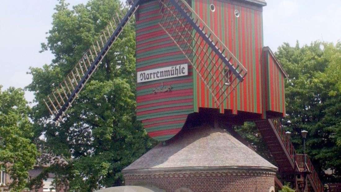 Die Bockwindmühle im Viersener Stadtteil Dülke