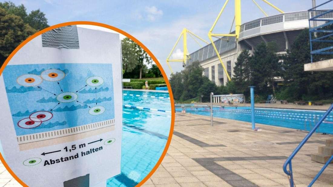 Die Freibadsaison 2020 in Dortmund startet heute - die Stadt gab trotz Coronavirus-Pandemie grünes Licht.