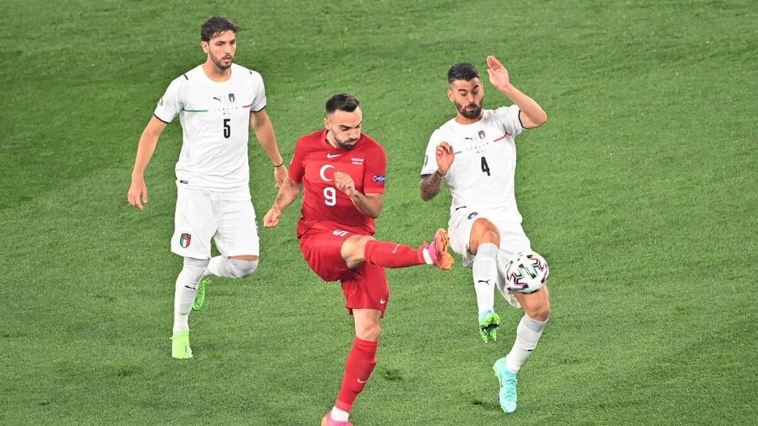 Auftakt der EM 2021: Türkei gegen Italien.
