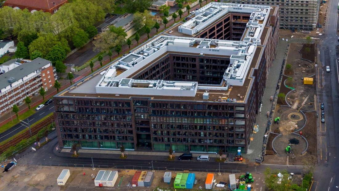 In der Schanzenstraße wird bereits fleißig für das Projekt I/D Cologne gebaut.