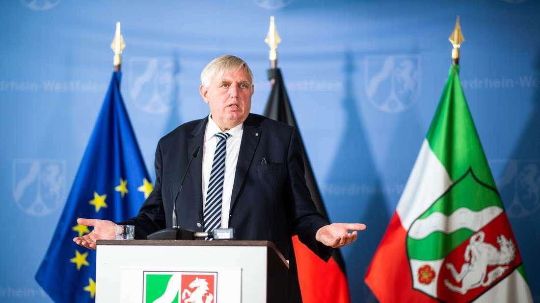 Pressekonferenz mit Karl-Josef Laumann