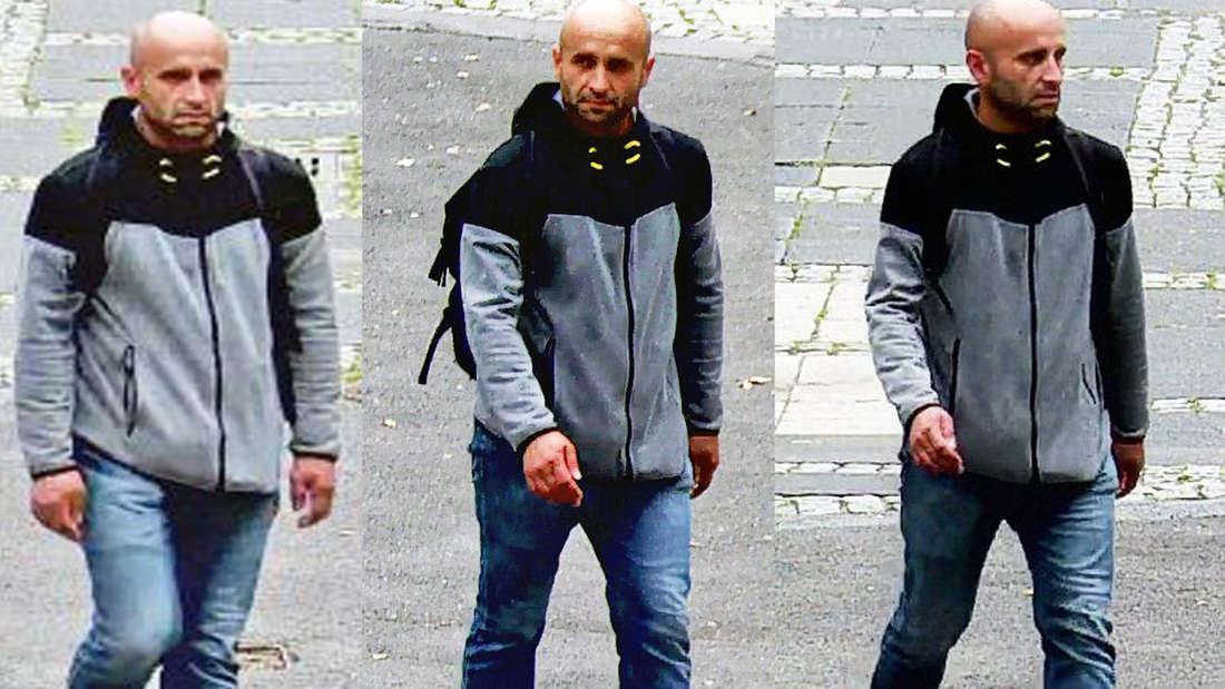 Mann überfällt Kreissparkasse am Neumarkt in Köln - Bilder Überwachungskamera