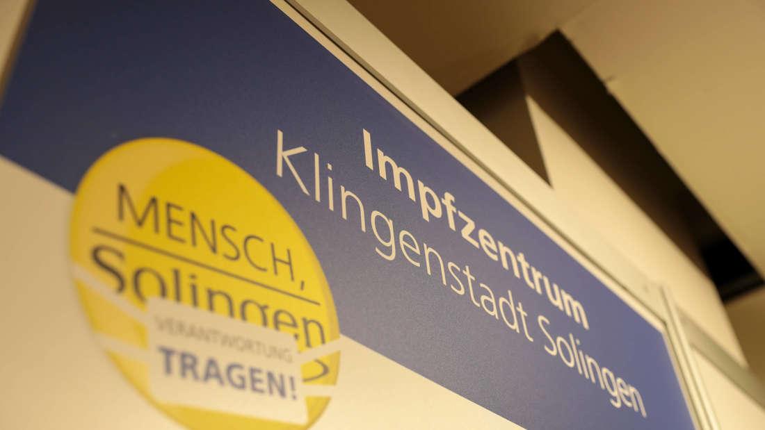 Das Impfzentrum Solingen.