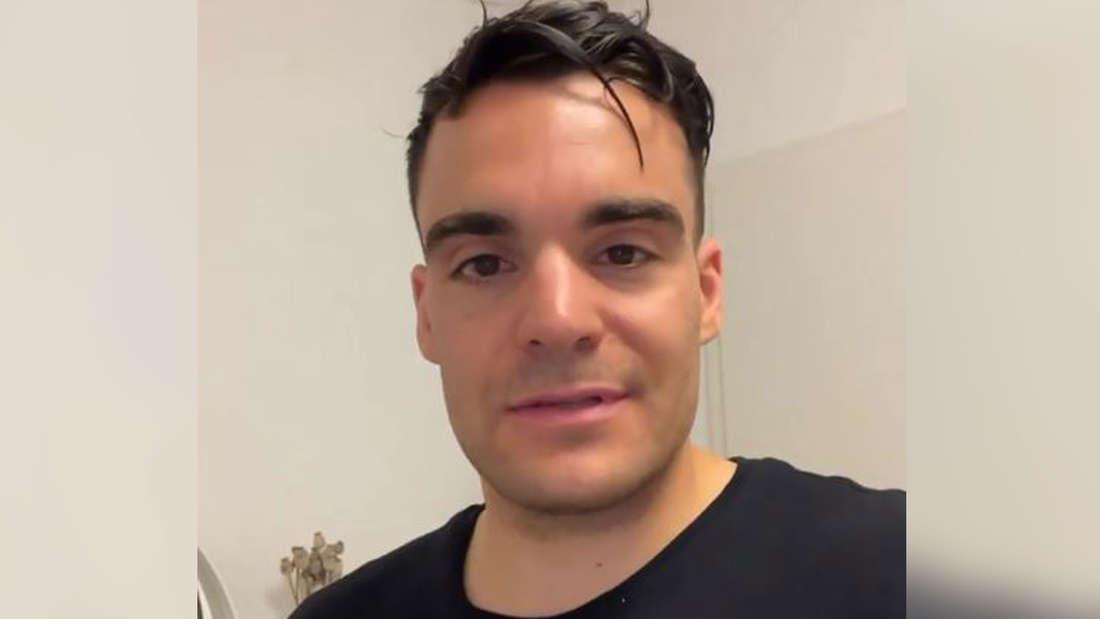 Stefano Zarrella im Selfie-Modus