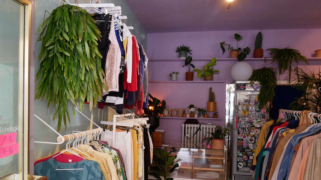 """Der Vintage Store """"mooii"""" in Köln Nippes von innen"""