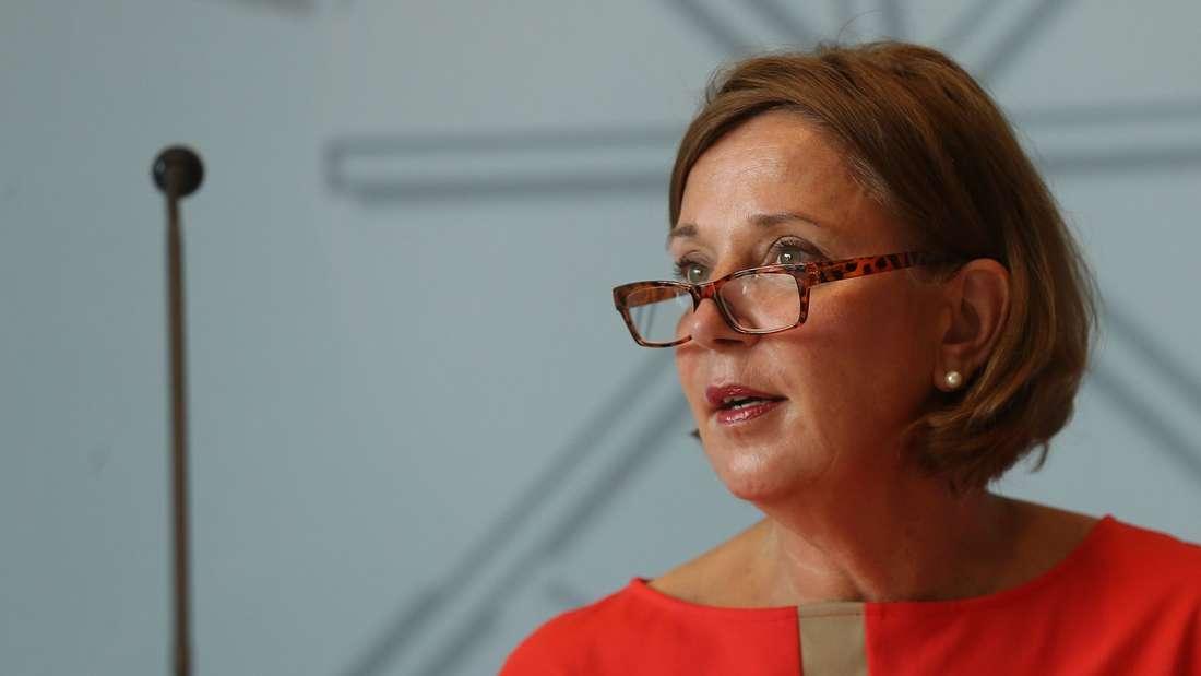 Pressekonferenz mit NRW-Schulministerin Gebauer