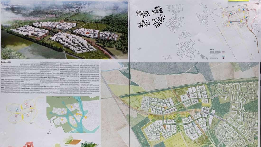"""Der Entwurf """"4 Quartiere - ein Veedel"""" von rheinflügel severin aus Düsseldorf."""