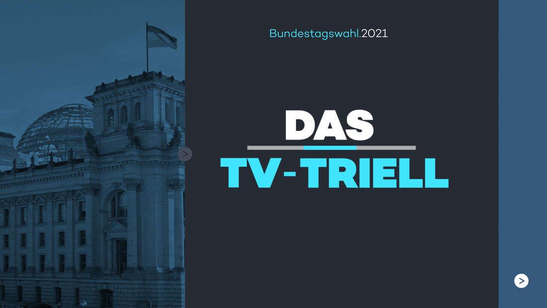 """Das Logo von der Sendung """"Das TV-Triell"""" von ProSieben, Sat.1 und Kabeleins."""