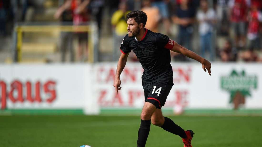 Jonas Hector und der 1. FC Köln liefen am vierten Bundesliga-Spieltag in Freiburg erstmals im schwarzen Ausweichtrikot auf.