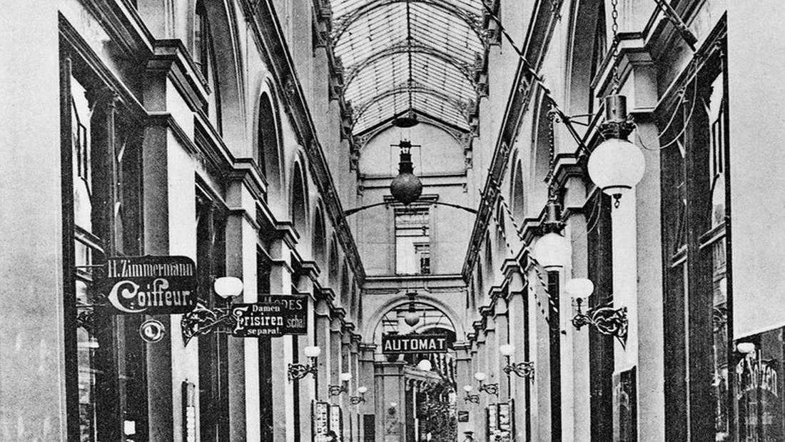 Königin Augusta Passage, Köln.