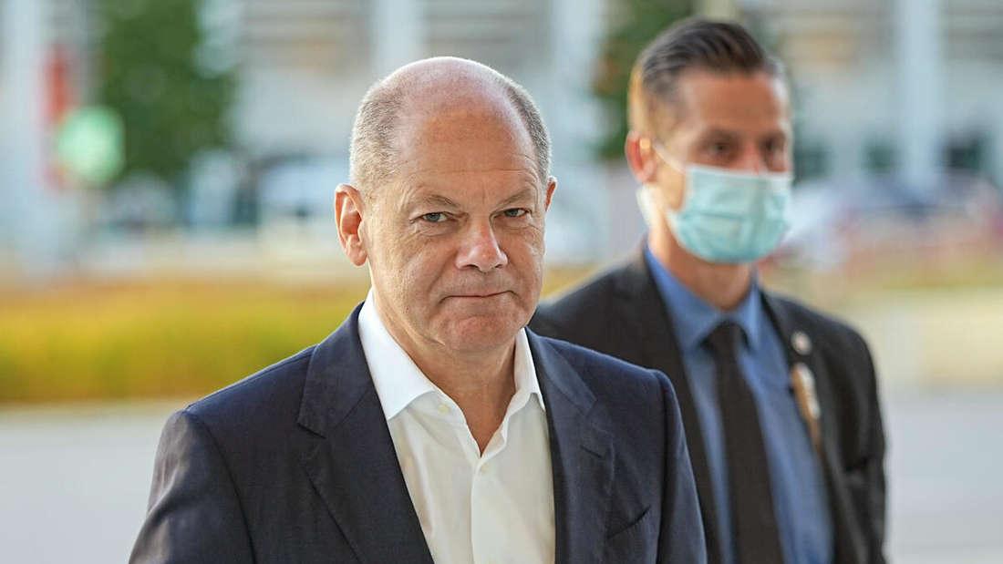 Olaf Scholz, SPD-Kanzlerkandidat und Bundesminister der Finanzen (Archivbild)